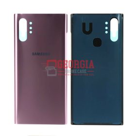 Aura Pink Battery Cover Rear Back Glass Housing Door For Samsung Galaxy Note10