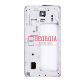 Rear Housing Assembly with Small Parts for Samsung Galaxy Note 4 N910V White