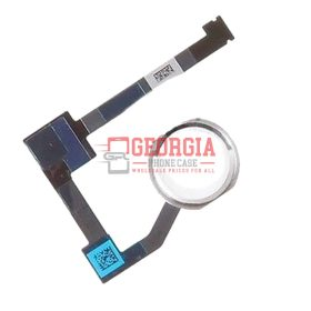 Silver Home Menu Button Flex Cable Substitute Part for iPad Air 2 A1566 A1567 (High Quality - Substitute Part)