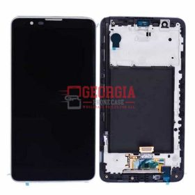 For LG Stylus 2 G Stylo 2 LS775 K540 Touch Digitizer + LCD Screen + Frame Black