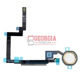 Gold Home Button Sensor Connector Flex Cable Ribbon Repair for iPad Mini 3 (High Quality - Substitute Part)