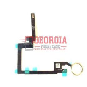 IPad Mini 3 Home Menu Button Flex Cable Substitute - White Gold A1601 A1600 (High Quality - Substitute Part)