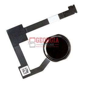 Black Home Menu Button Flex Cable Substitute Part for iPad Air 2 A1566 A1567 (High Quality - Substitute Part)
