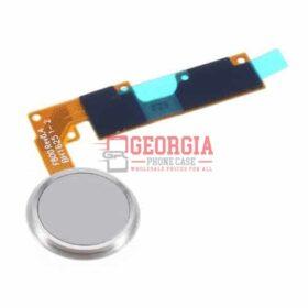 LG V20 Home Button Fingerprint Sensor Power Button Flex Cable White Substitute