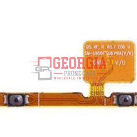 Volume Button Flex Cable for Samsung Galaxy S5 All Versions (High Quality - Substitute Part)