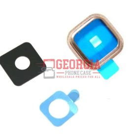 Samsung Galaxy S5 i9600 G900 G9005 Camera Glass Lens Ring Cover Substitute GOLD (High Quality - Substitute Part)