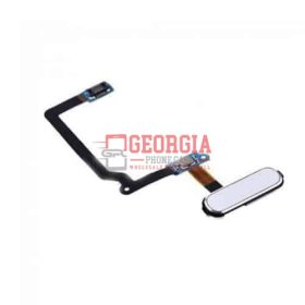 Home Button Flex Cable Substitute Part for Samsung Galaxy S5 G900-White (High Quality - Substitute Part)