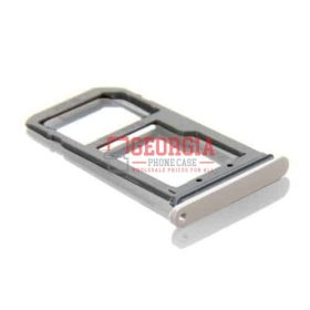Samsung Galaxy S7 Edge G935 Sim Card Holder Slot Micro SD Card Tray GOLD New Substitute (High Quality - Substitute Part)