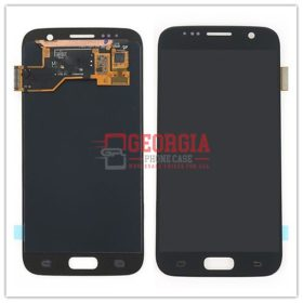 LCD And Touch Screen Assembly for Samsung Galaxy S7 Black (Premium Quality) (High Quality - Substitute Part)
