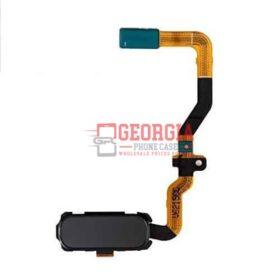 Samsung Galaxy S7 G930 Black Home Button Flex Cable Fingerprint Sensor (High Quality - Substitute Part)