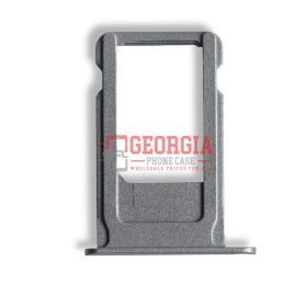 iPhone 6S Plus Space Gray Sim Card Tray Slot Holder (High Quality - Substitute Part)