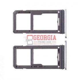 Samsung Galaxy S8 G950/S8 Plus G955 Silver Sim Card Tray and MicroSD Card Tray
