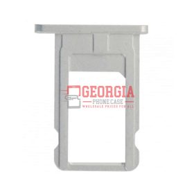 iPhone 6 Silver Sim Card Holder Slot Sim Card Tray (High Quality - Substitute Part)
