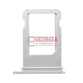 iPhone 6S Silver Sim Card Tray Slot Holder (High Quality - Substitute Part)