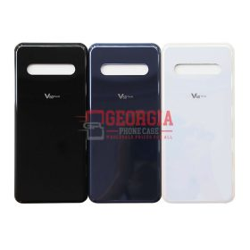 New Back Door Battery Cover with adhesive for LG V60 - Blue