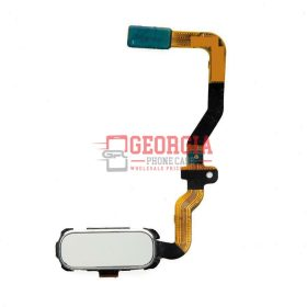 Samsung Galaxy S7 G930 White Home Button Flex Cable Fingerprint Sensor (High Quality - Substitute Part)