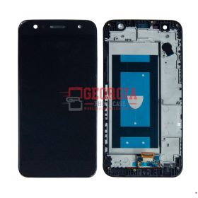 LCD Screen Display with Touch Digitizer Panel and Frame for LG X Charge/ X Power 2 M320 M322 X320 M327 X500- Black