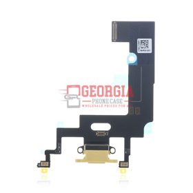 Charging Port USB Flex Cable Substitute For iPhone XR(6.1) - Yellow (High Quality - Substitute Part)