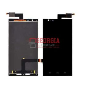 LCD Digitizer Screen Substitute Touchscreen for ZTE Zmax Z970 Black